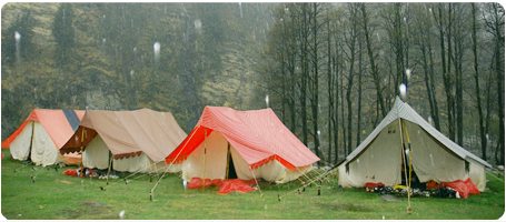 Camping in Mussoorie,Adventure camping in Kanatal,Kanatal campsites
